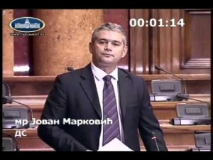 Jovan Markovic Skupština