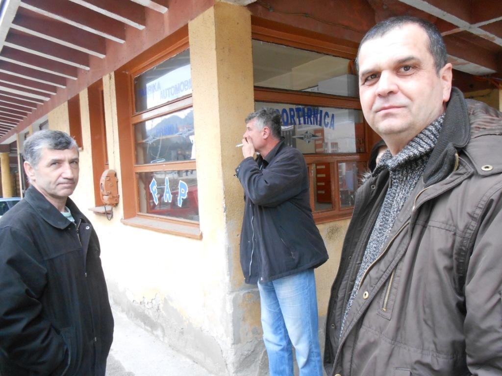 Miroslav Mršević, pred kapijom FAP-a