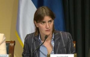 Ana Brnabič, ministarka lokalne samouprave