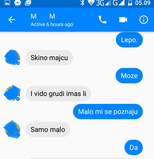 sms pedofilijaa