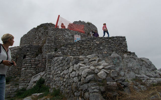 Stari grad zidine
