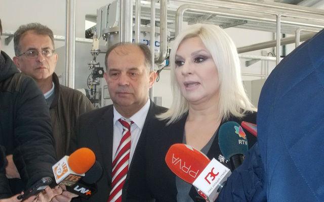 Fabrika vode prva faza kraj Zorana Mihajilovic
