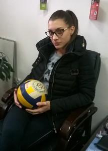 Katarina Glišović kapiten Jedinstva