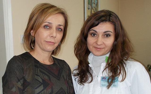Dr Danijela Marinković, v.d direktora Doma zdravlja i Mira Ješić, glavna sestra i administrator