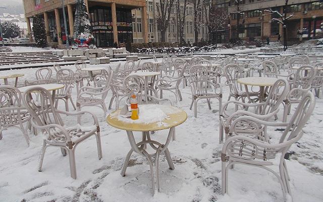 sneg trg