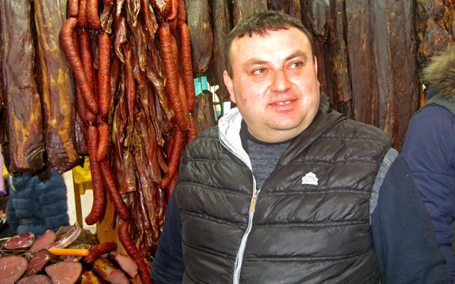 Rade Šopalović, zlatna medalja za svinjsku pršutu