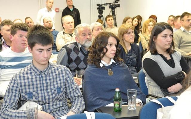Predstavnici lokalnih organizacija i institucija prisustvovali su svecanoj dodeli