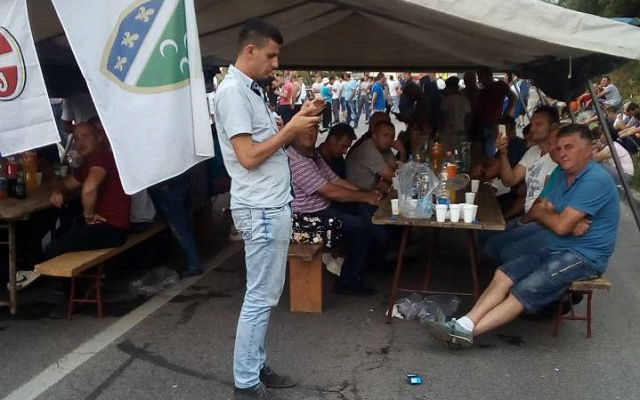 Malinari protest Prijepolje