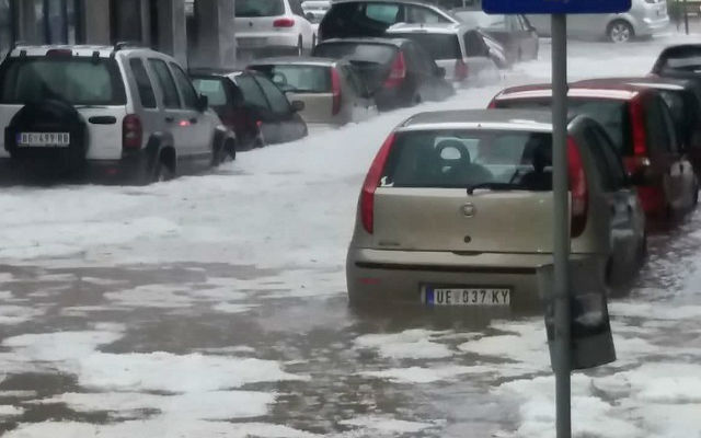 Nevreme grad UE ulica