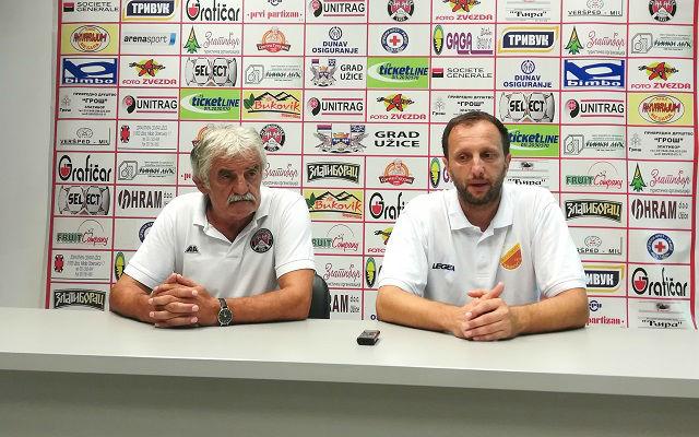 Treneri Čučković i Nikolić