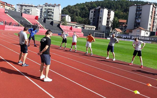 KK Sloboda trening 2
