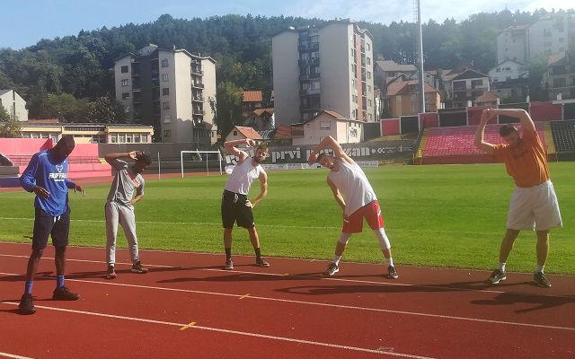 KK Sloboda trening 3