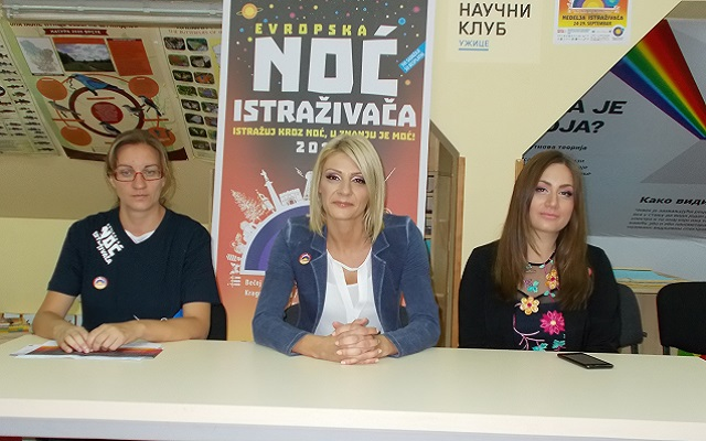 Ivana Jovanović, Milena Vićević i Marina Tasić