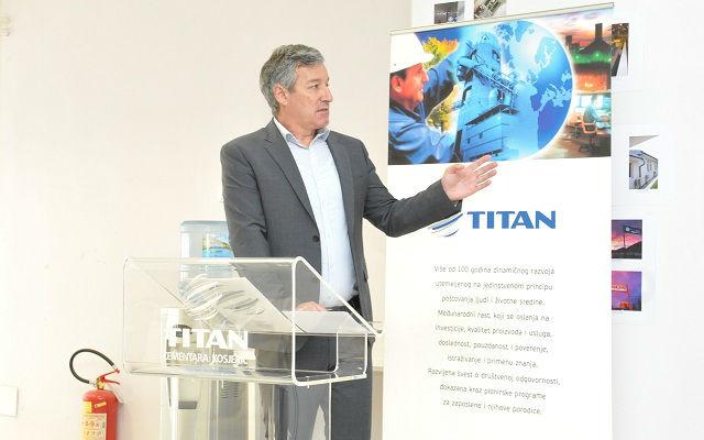 Titan cementara Miroslav Gligorijevic
