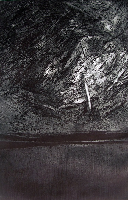 Nikola r. Prophecy, 40x60cm, etching, 2015.