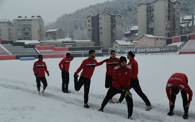 FK Sloboda trening 1