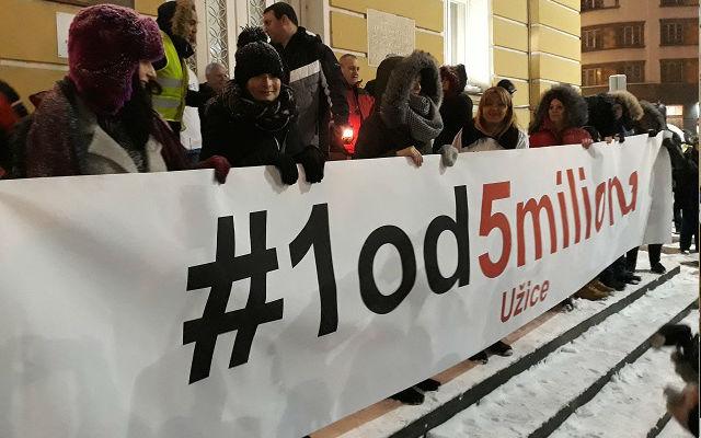 Protest Jedan od milion 8